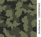 camouflage seamless pattern.... | Shutterstock .eps vector #1100549465