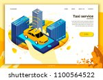 vector concept illustration   ... | Shutterstock .eps vector #1100564522