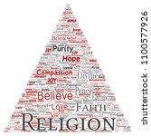 vector conceptual religion  god ...   Shutterstock .eps vector #1100577926