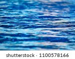 the smooth water as an abstract ... | Shutterstock . vector #1100578166