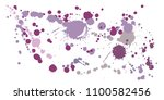 watercolor stains grunge...   Shutterstock .eps vector #1100582456