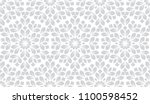 flower geometric pattern.... | Shutterstock .eps vector #1100598452