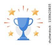 reward program  game winner ... | Shutterstock .eps vector #1100623835
