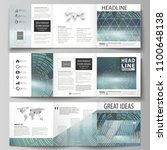 set of business templates for... | Shutterstock .eps vector #1100648138