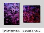 dark purplevector brochure for...