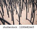 3d rendering hair keratin... | Shutterstock . vector #1100682665