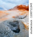 namafjall   geothermal area in... | Shutterstock . vector #1100711345