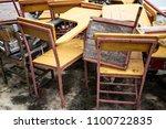 Abandoned Broken Vintage Woode...