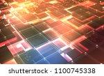 quantum computer architecture....   Shutterstock . vector #1100745338