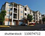 condominium garden style...   Shutterstock . vector #110074712