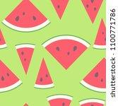 vector illustration  seamless... | Shutterstock .eps vector #1100771786