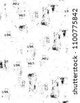 grunge black and white pattern. ... | Shutterstock . vector #1100775842
