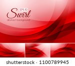 swirl abstract background... | Shutterstock .eps vector #1100789945
