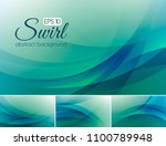 swirl abstract background... | Shutterstock .eps vector #1100789948