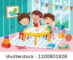 vector illustration of... | Shutterstock .eps vector #1100801828