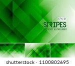 vector fractal and stripes... | Shutterstock .eps vector #1100802695