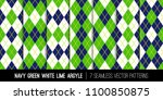 argyle seamless vector patterns ... | Shutterstock .eps vector #1100850875
