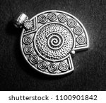 oxidized jewelry images   Shutterstock . vector #1100901842
