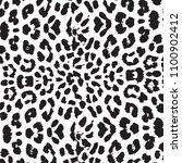 animal skin leopard pattern in...   Shutterstock .eps vector #1100902412