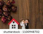 real estate and mortgage... | Shutterstock . vector #1100948702