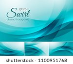 swirl abstract background... | Shutterstock .eps vector #1100951768