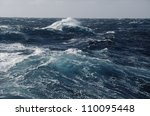 waves in ocean | Shutterstock . vector #110095448