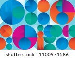 abstract colorful seamless... | Shutterstock .eps vector #1100971586