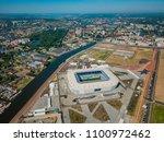 kaliningrad   russia  may 20 ... | Shutterstock . vector #1100972462