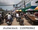 sihanoukville  cambodia  march... | Shutterstock . vector #1100983862