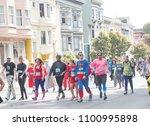 may 21  2018   san francisco ...   Shutterstock . vector #1100995898