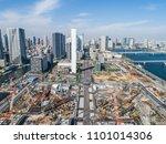 landscape picture of blue sky... | Shutterstock . vector #1101014306