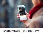 2018.04.23 kazan russia   voice ... | Shutterstock . vector #1101023195