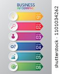 information graphic or... | Shutterstock .eps vector #1101034262