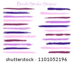 graffiti ink brush stroke... | Shutterstock .eps vector #1101052196