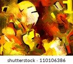 original hand draw abstract... | Shutterstock .eps vector #110106386