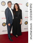 Small photo of Rino Pace, Michelle Pullan attend 5th Annual Location Managers Guild International Awards at Alex Theatre, Glendale, CA on April 7th, 2018