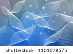 light blue vector texture with... | Shutterstock .eps vector #1101078575