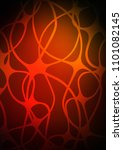 dark orange doodle blurred... | Shutterstock . vector #1101082145