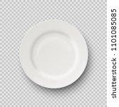 vector realistic porcelain... | Shutterstock .eps vector #1101085085