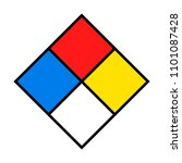 nfpa 704   standard system for...   Shutterstock .eps vector #1101087428