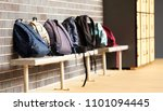a number of school bags back... | Shutterstock . vector #1101094445