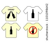 t shirt template  model with... | Shutterstock .eps vector #1101098642