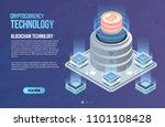blockchain network business... | Shutterstock .eps vector #1101108428