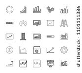 progress icon. collection of 25 ... | Shutterstock .eps vector #1101111386