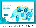 vector concept illustration   ... | Shutterstock .eps vector #1101115415