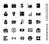 money icon. collection of 25...   Shutterstock .eps vector #1101123218