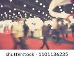out of focus blur event... | Shutterstock . vector #1101136235