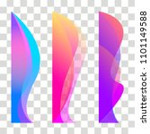 wavy design element. decor for... | Shutterstock .eps vector #1101149588