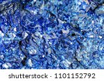 mineral azurite. the texture of ... | Shutterstock . vector #1101152792
