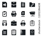 set of simple vector isolated... | Shutterstock .eps vector #1101186638